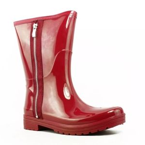 Unlisted Rubber Rain Zip Boots